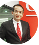 Komsan Sripavatakul, new President of the Thai Refrigeration Association